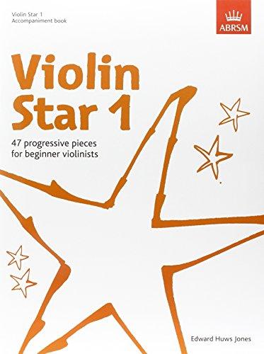 Violin Star 1, Accompaniment book By Edward Huws Jones