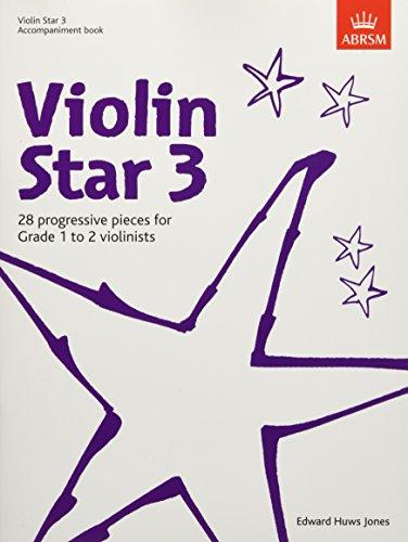 Violin Star 3, Accompaniment book By Edward Huws Jones
