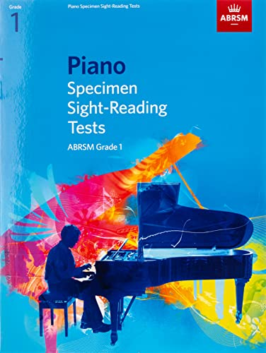 Piano Specimen Sight-Reading Tests, Grade 1 By ABRSM