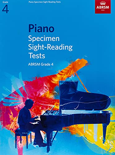 Piano Specimen Sight-Reading Tests, Grade 4 By ABRSM