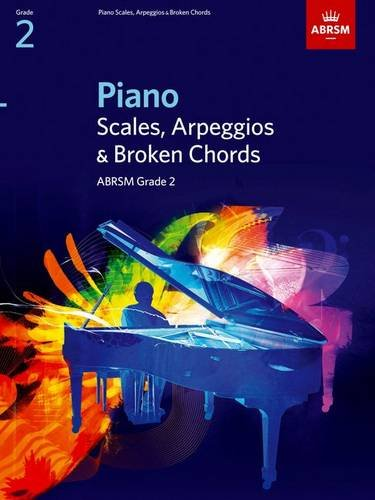 Piano Scales, Arpeggios & Broken Chords, Grade 2 By ABRSM
