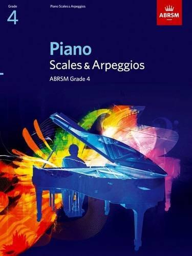 Piano Scales & Arpeggios, Grade 4 By ABRSM