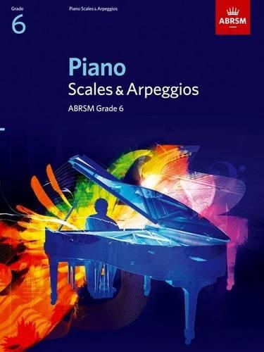 Piano Scales & Arpeggios, Grade 6 By ABRSM