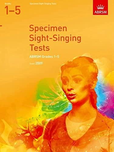 Specimen Sight-Singing Tests, Grades 1-5 By DIVERS AUTEURS