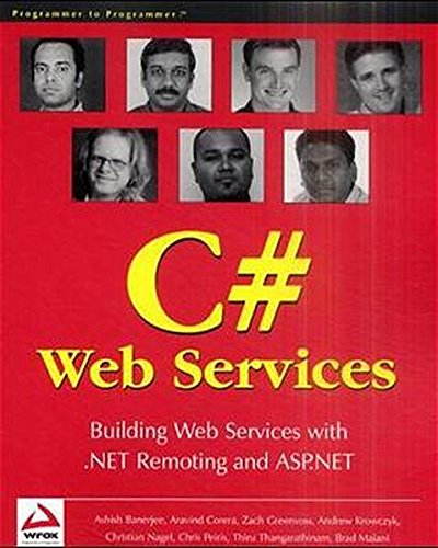 Professional C# Web Services By Zach Greenvoss