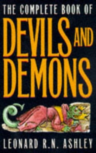COMPLETE BOOK OF DEVILS By Leonard R. N. Ashley
