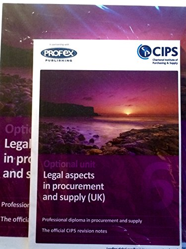 OPTION: Legal Aspects in Procurement and Supply (UK) By Profex Ltd