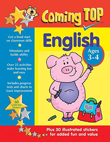 Coming Top: English - Ages 3-4 By Hawes Alison & Jones Jill