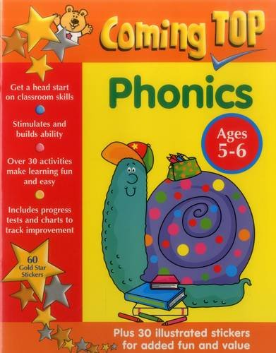 Coming Top: Phonics - Ages 5-6 By Smoerville Louisa & Smith David