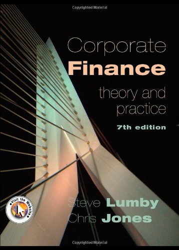 Corporate Finance By Stephen Lumby