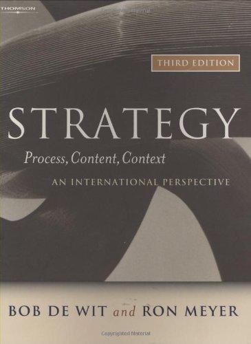 Strategy By Bob De Wit
