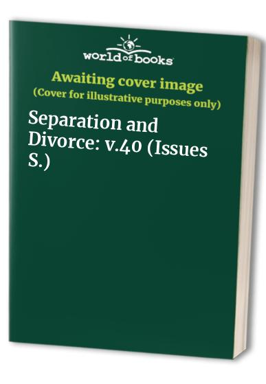 Separation and Divorce By Craig Donnellan