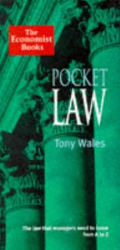 Pocket Law By Tony Wales