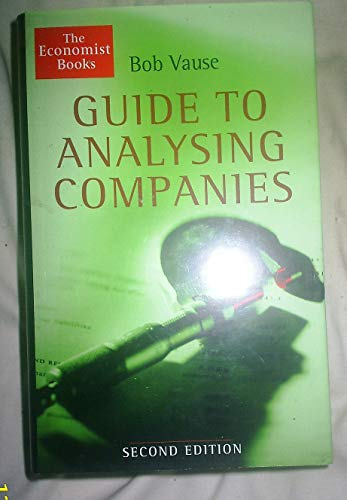 The Economist Guide To Analysing Companies By Bob Vause