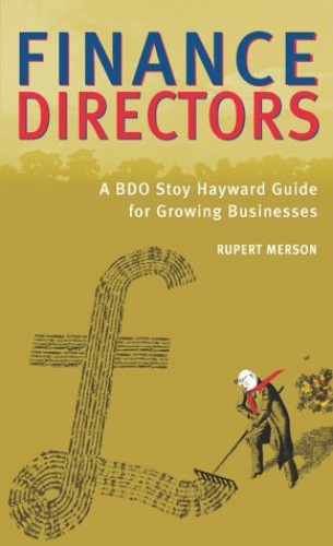 Finance Directors By Rupert Merson