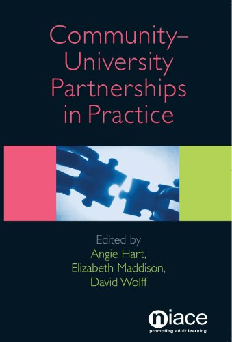 Community-University Partnerships in Practice By Angie Hart (Institute of Nursing and Midwifery University of Brighton UK)