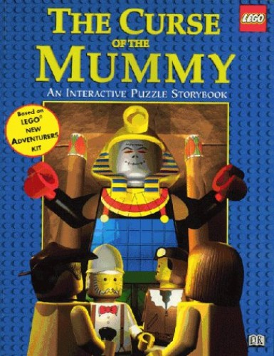Lego Puzzle Story Book: Curse Of The Mummy By Lego