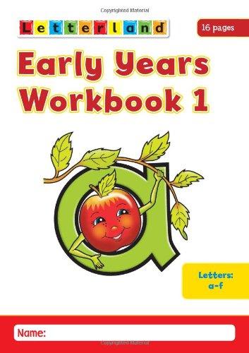 Early Years Workbooks By Louis Fidge