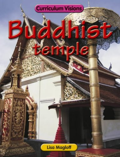 Buddhist Temple By Lisa Magloff