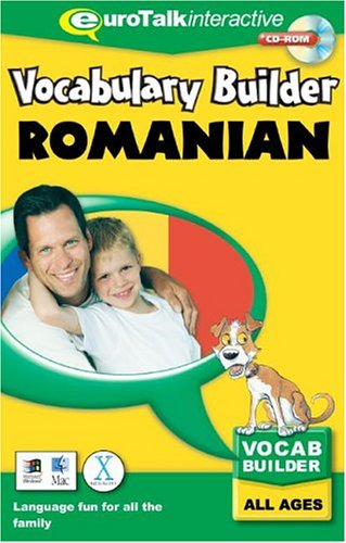 EuroTalk Limited Vocabulary Builder Romanian: Language fun for all the family – All Ages (PC/Mac) By EuroTalk Ltd.