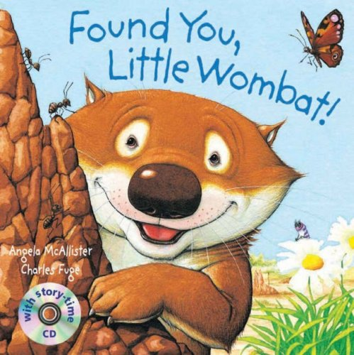 Found You, Little Wombat! Pbk With Cd By Angela McAllister