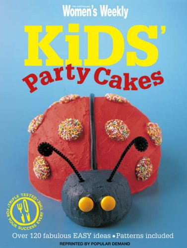 Kids Party Cakes By The Aust Weekly
