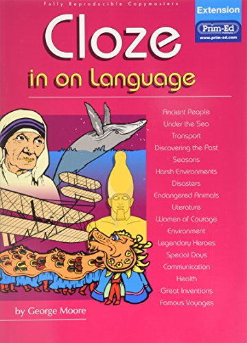 Cloze in on Language: Extension By George Moore