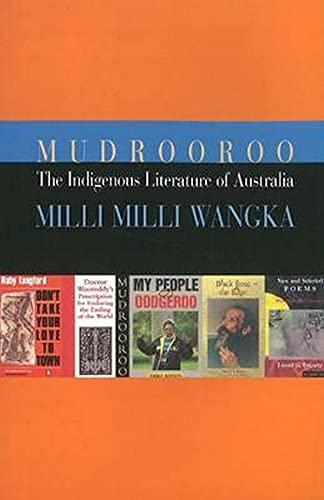 The Indigenous Literature of Australia par Mudrooroo