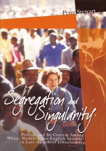 Segregation and Singularity By Peter Stewart