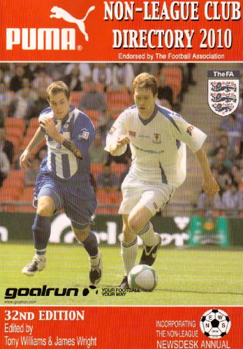 Non-League Club Directory 2010 Paperback Book The Cheap Fast Free Post