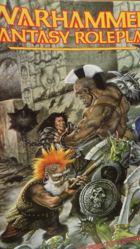 Warhammer-Fantasy-Role-Play-A-Grim-World-of-Perilous-Adventure-Paperback-Book
