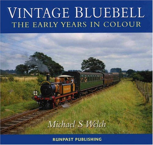 Vintage Bluebell By Michael Welch