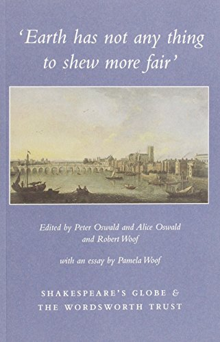 Earth Has Not Any Thing to Shew More Fair By Peter Oswald