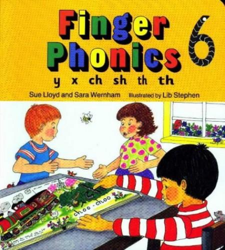 Finger Phonics Book 6: y, x, ch, sh, th, th by Susan M. Lloyd