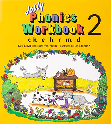 Jolly Phonics Workbook 2 von Sue Lloyd
