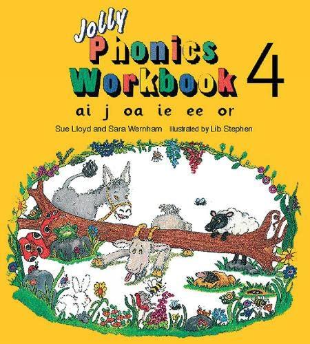 Jolly Phonics Workbook 4 von Sue Lloyd