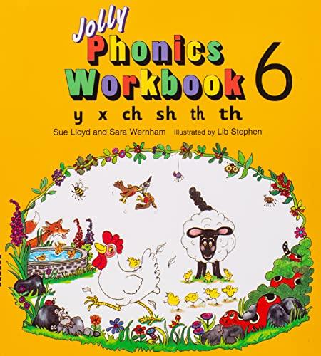 Jolly Phonics Workbook 6 By Sue Lloyd