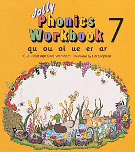 Jolly Phonics Workbook 7 von Sue Lloyd