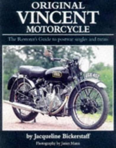 Original Vincent Motorcycle By Jacqueline Bickerstaff