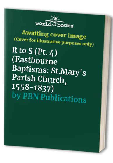 Eastbourne Baptisms By PBN Publications