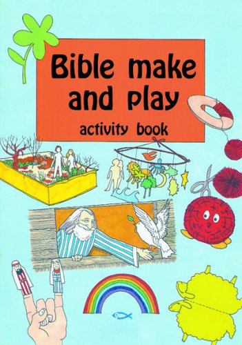 Bible Make & Play: An Activity Book By Woodman, Ros Spiral Bound Book The Cheap