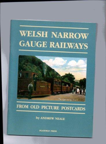 Welsh Narrow Gauge Railways By Andrew Neale