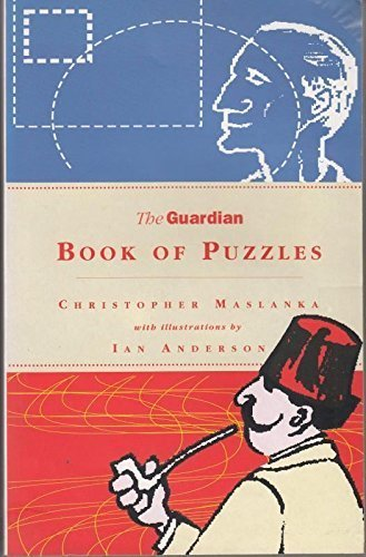 """""""Guardian"""" Book of Puzzles By Christopher Maslanka"""