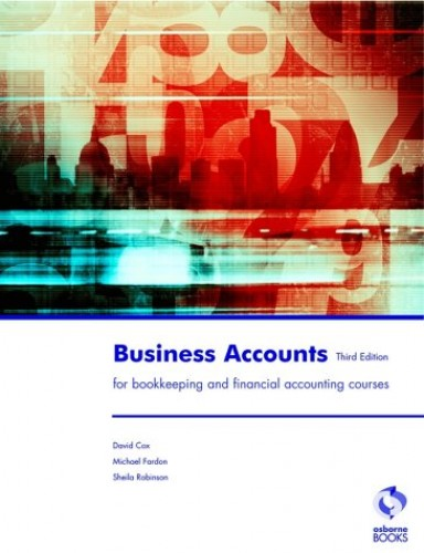 Business Accounts (Accounting & Finance) By David Cox