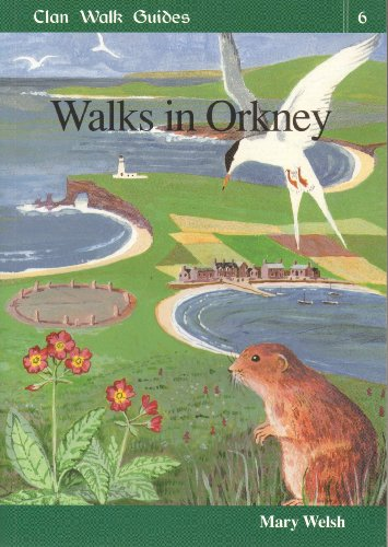 Walks in Orkney by Mary Welsh