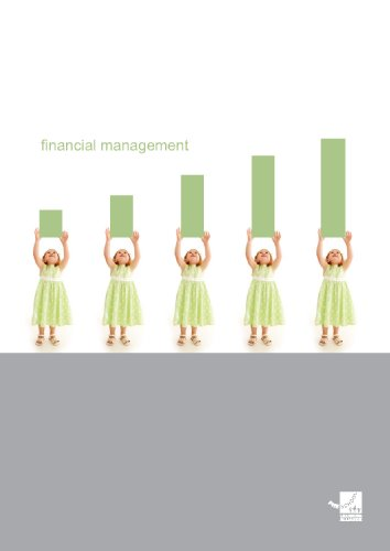 Financial Management By Pre-school Learning Alliance