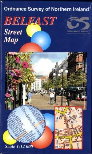 Belfast Street Map By Ordnance Survey of Northern Ireland