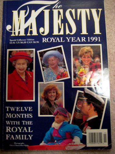 """Majesty"" Year: Twelve Months with the Royal Family"