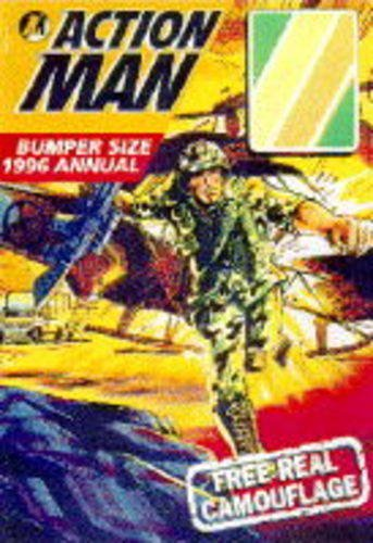 Action Man Annual 1996 Hardback Book The Cheap Fast Free Post