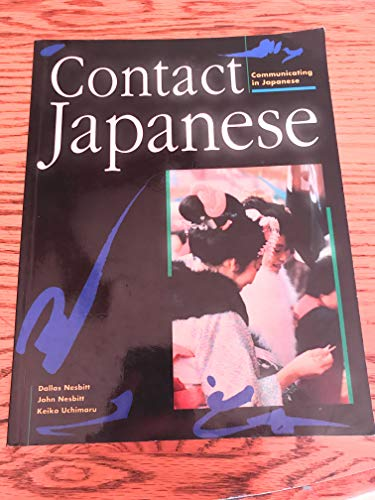 Contact Japanese Student Coursebook By ..... .....